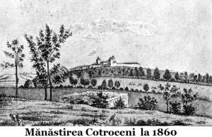 Mănăstirea_Cotroceni,_1860