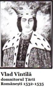 vlad vintila domn al tarii romanesti 1532-1535